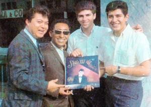 César Donald (†20.03.93) Gil Medina, Jaime Bolaños y WM